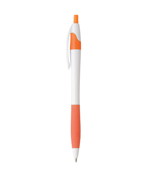 Slim Curve Pen with Rubber Grip