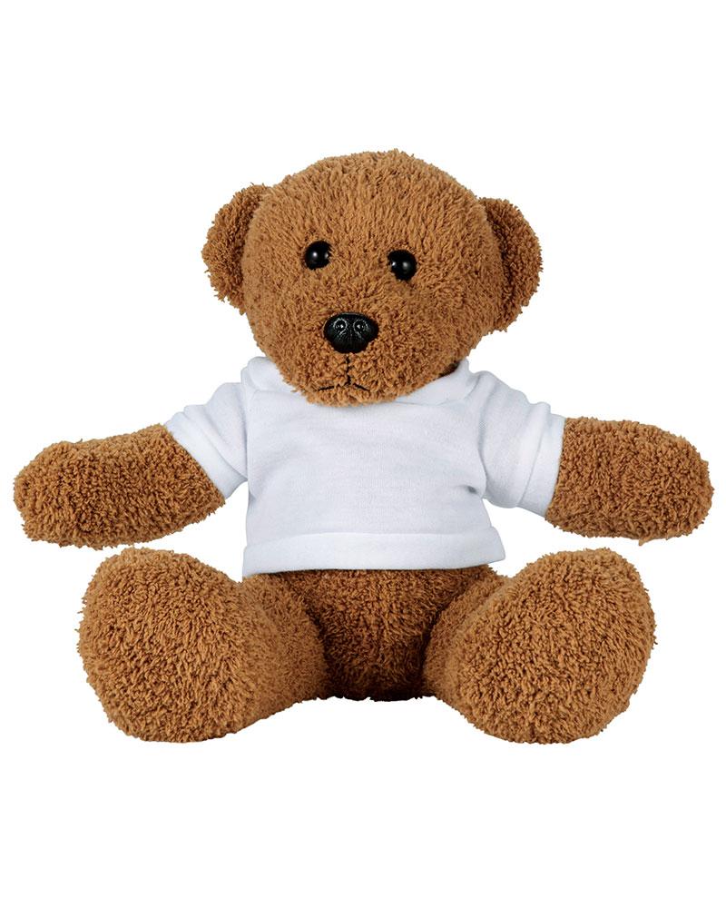 """8"""" Plush Rag Bear with Shirt"""