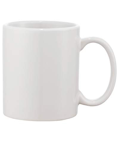 11 oz. White Ceramic Mug