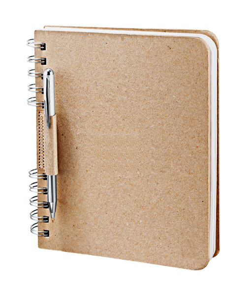 Journal Books Recycled Cardboard Journal