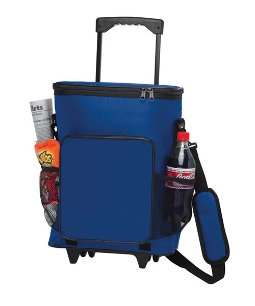 Rolling Insulated Cooler Bag
