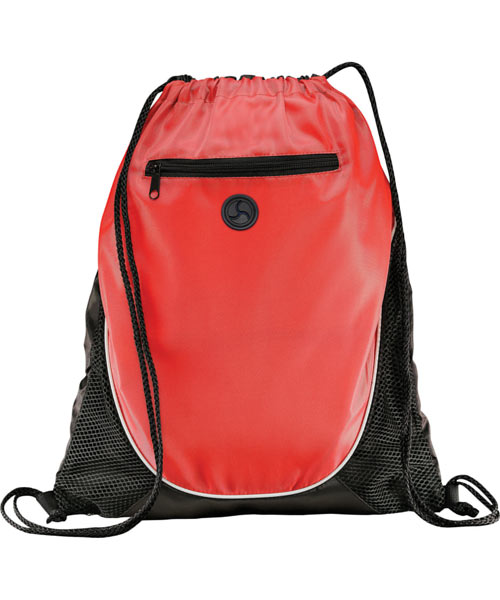 Color-Block Drawstring Backpack