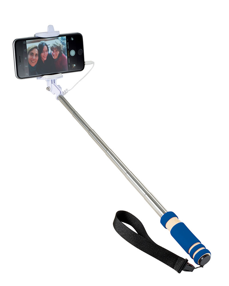Mini Selfie Stick with Lanyard