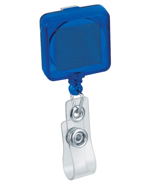 Retractable Square Badge Holder