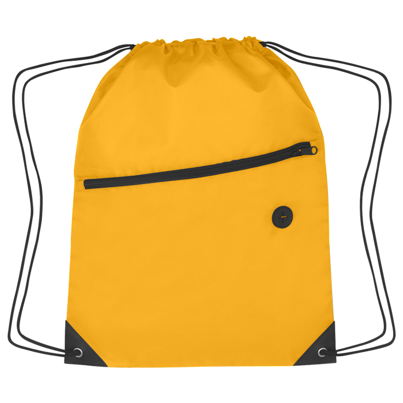 Printed Sports Pack With Front Zip