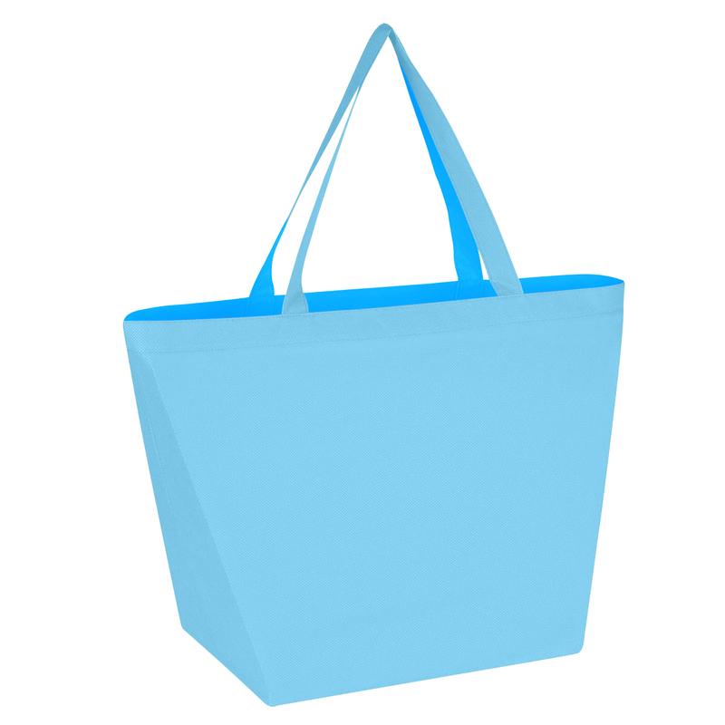 Printed Non-Woven Budget Shopper Tote Bag