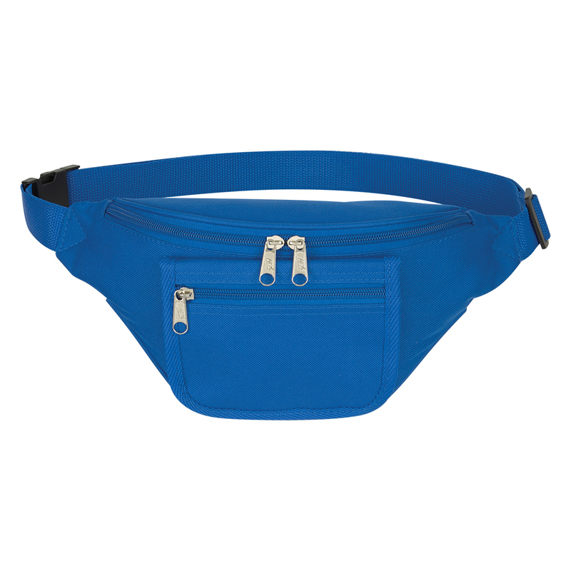 Printed Fanny Pack With Organizer