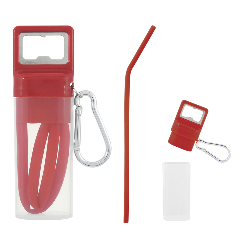Pop And Sip Bottle Opener Straw Kit