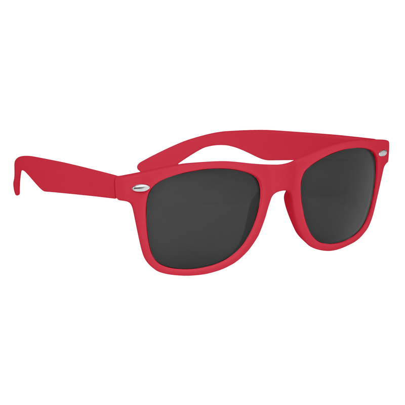 Velvet-Touch Matte Sunglasses