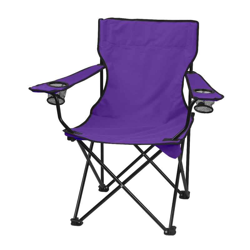 Printed Folding Chair With Carrying Bag