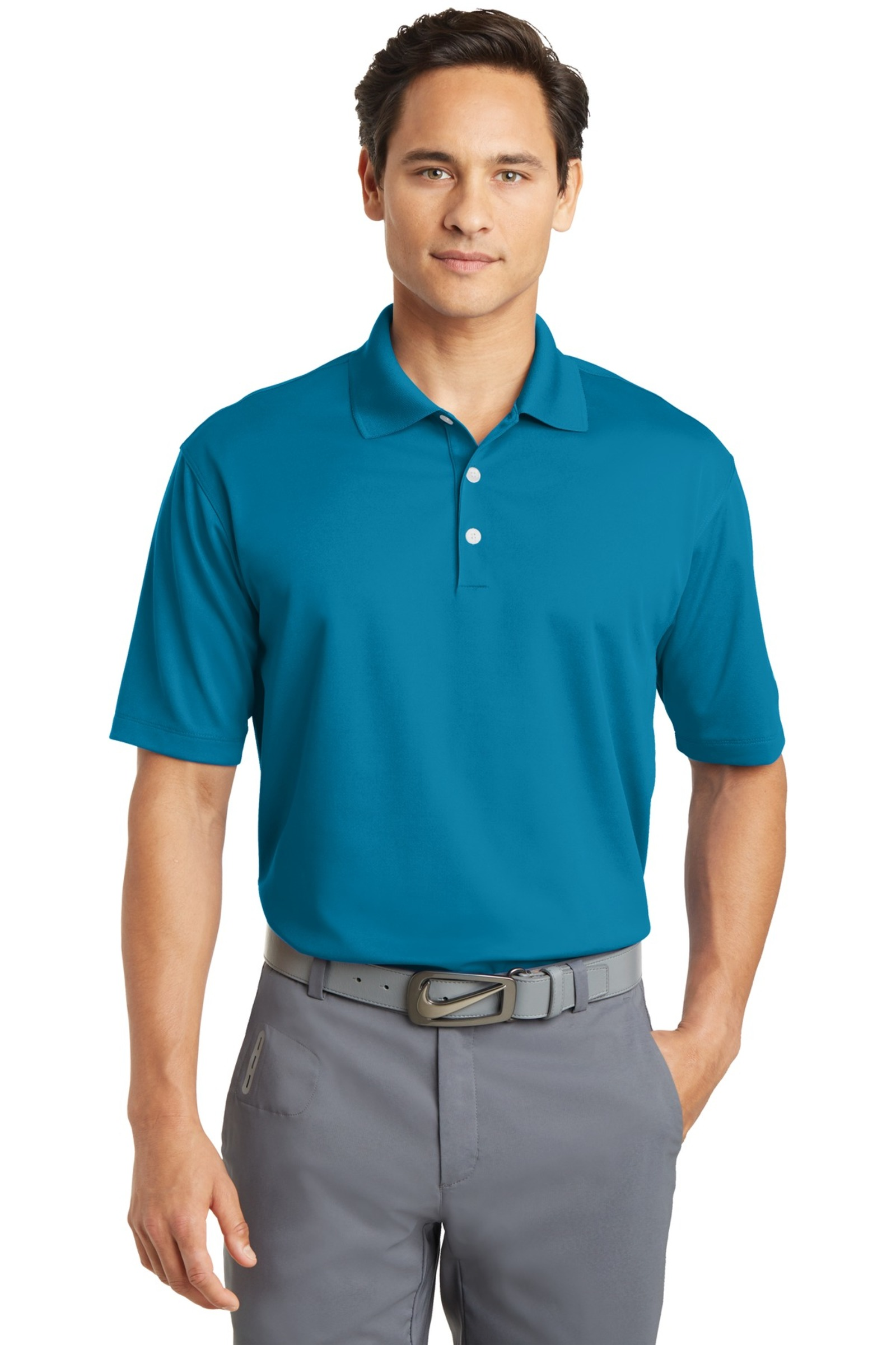 Nike Golf Embroidered Men's Tall Dri-FIT Micro Pique Polo