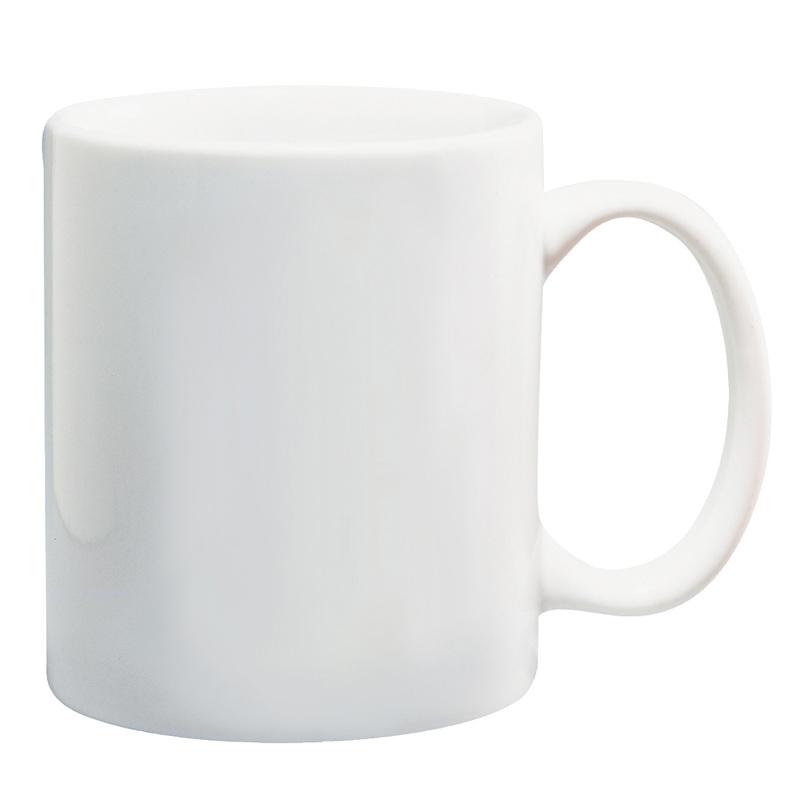 11 Oz. White Ceramic Mug