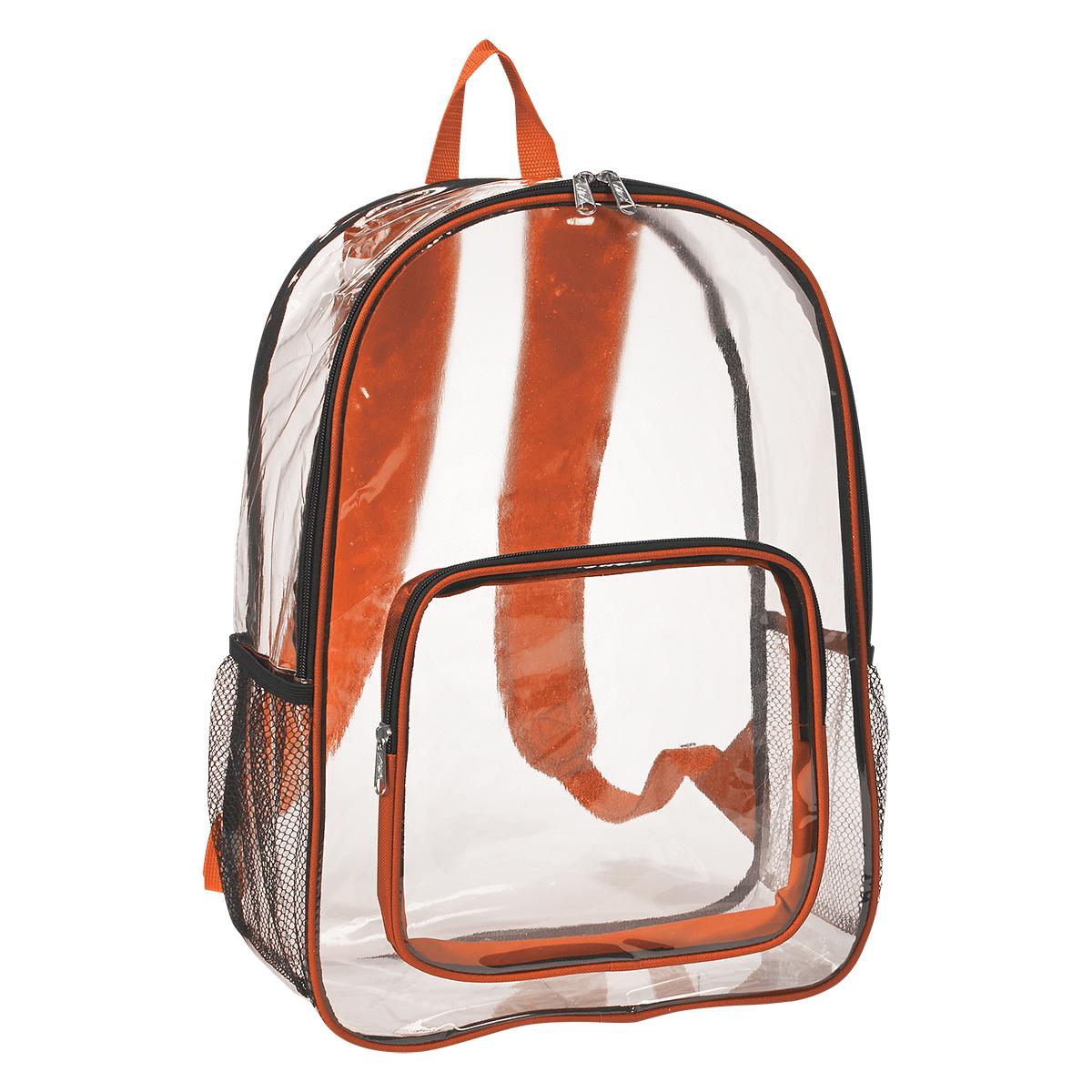 Printed Clear Backpack