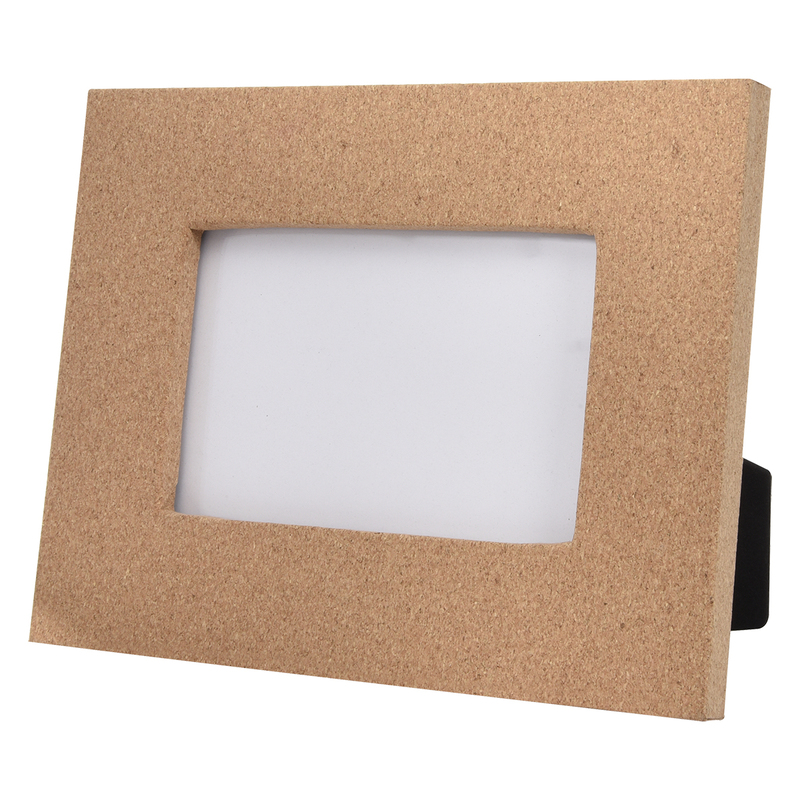"4"" x 6"" Cork Picture Frame"