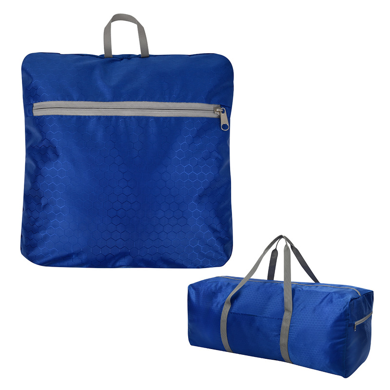 Printed Frequent Flyer Foldable Duffel Bag
