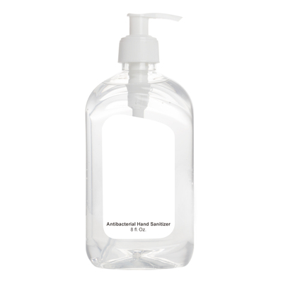 Printed 8 Oz. Hand Sanitizer Pump Bottle