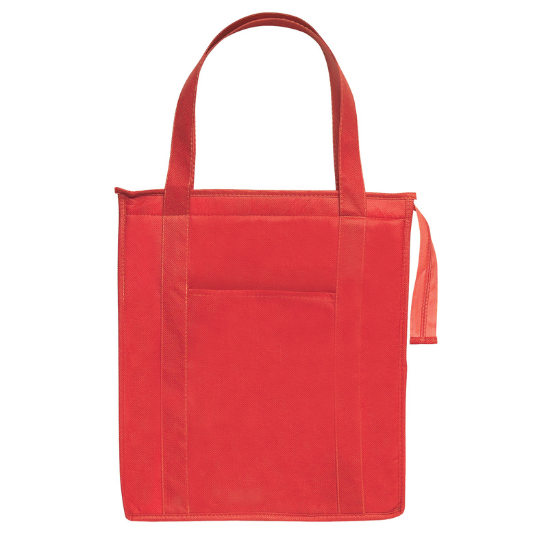 Printed Non-Woven Insulated Shopper Tote Bag