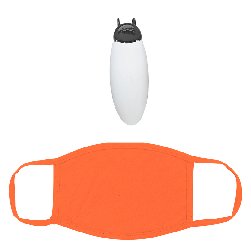 Cotton Reusable Mask With Visor Clip