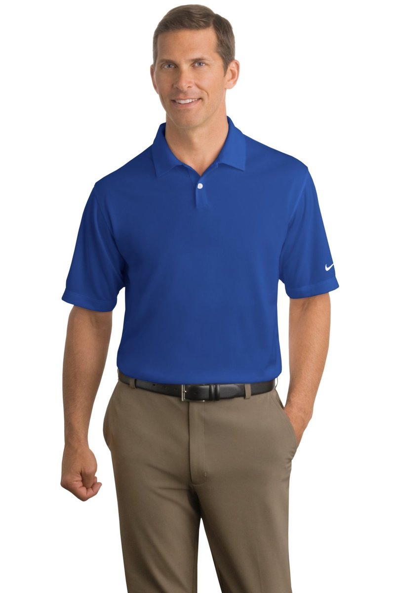 Nike Golf Embroidered Men's Dri-FIT Pebble Texture Polo