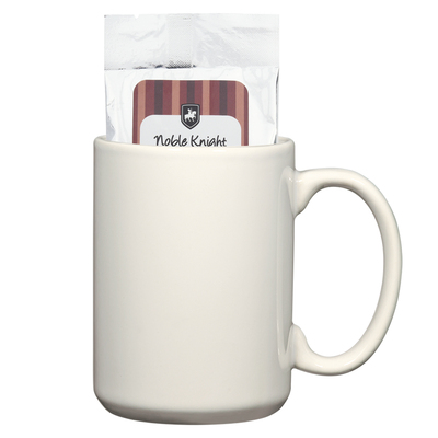 15 Oz. Mug With Two Packs Of Hot Cocoa