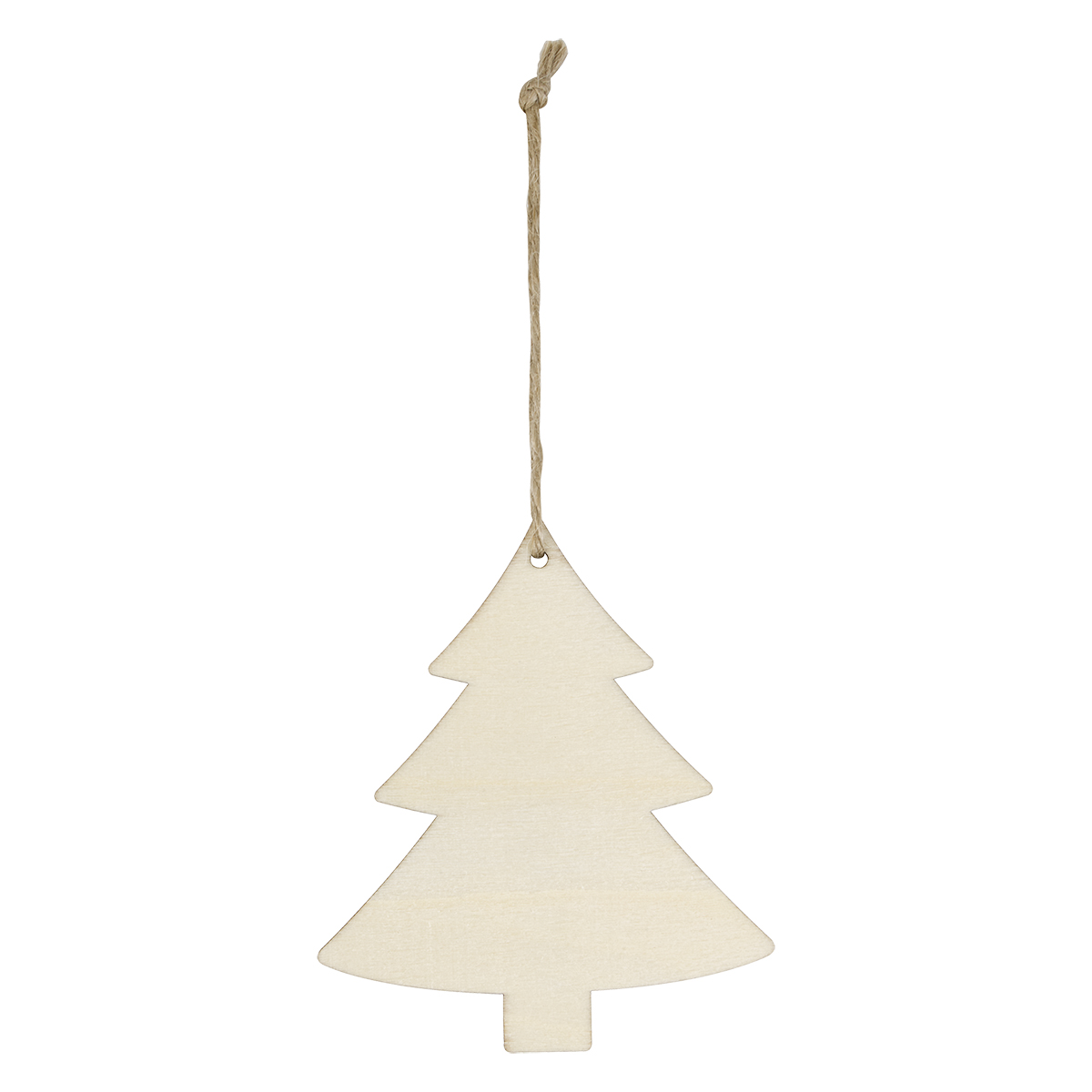 Wood Ornament - Tree