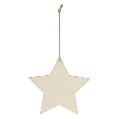 Wood Ornament - Star