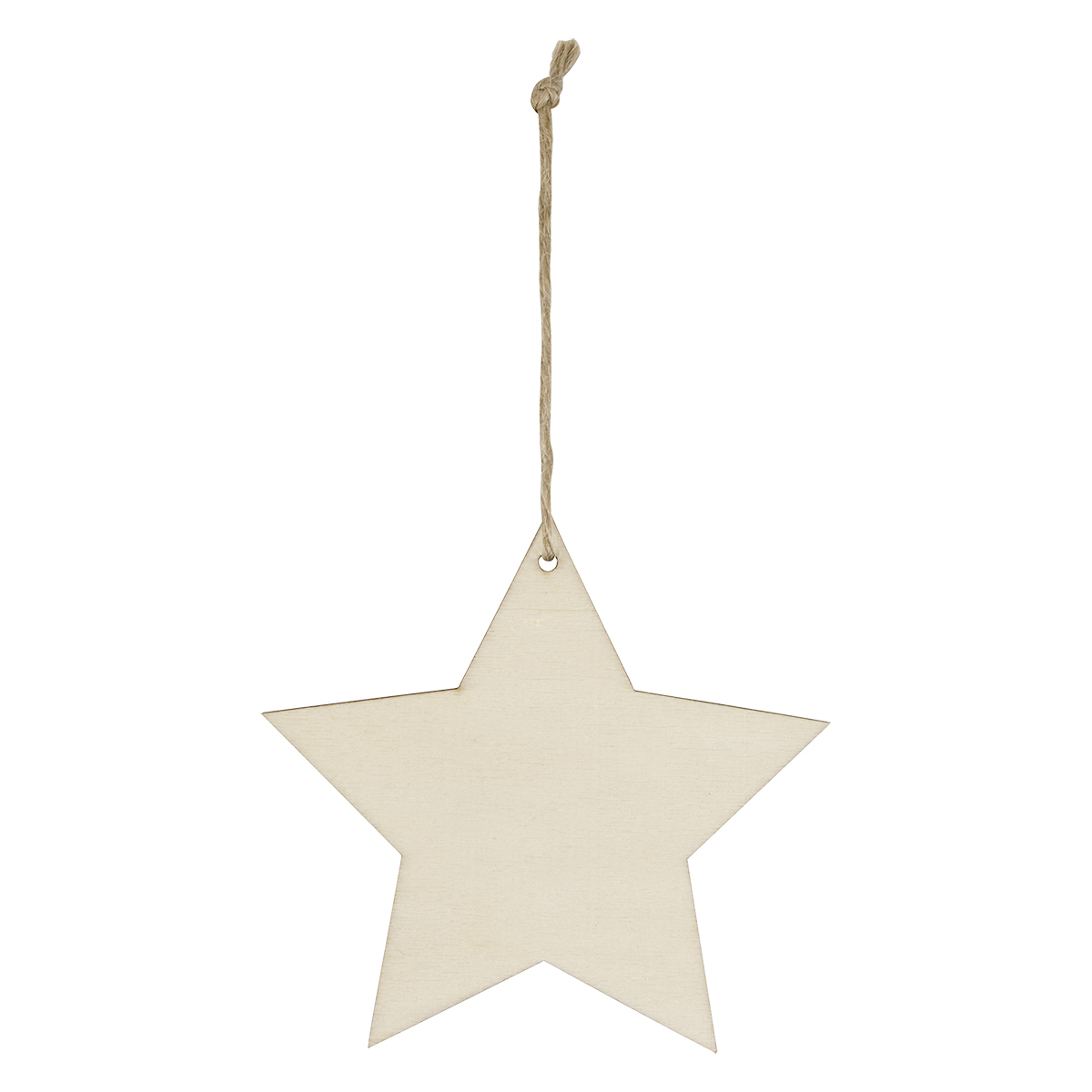 Wood Ornament - Star