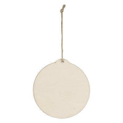 Wood Ornament - Circle
