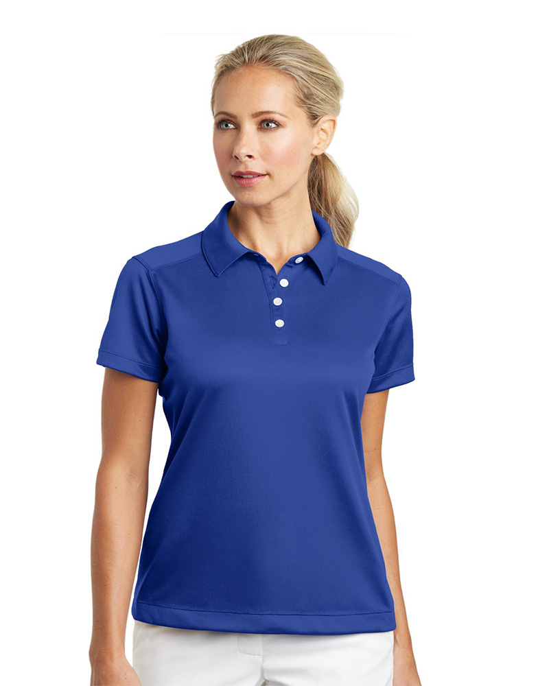 Nike Golf Embroidered Women's Dri-FIT Pebble Texture Polo