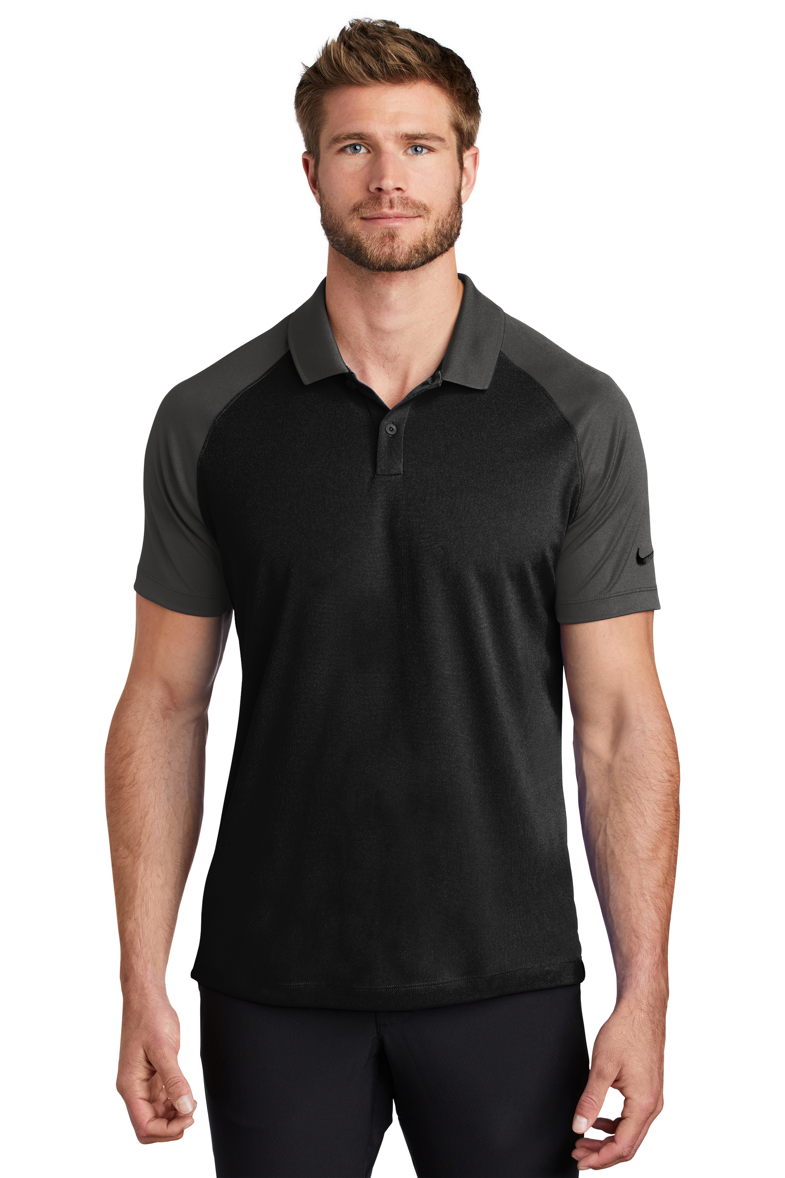Nike Embroidered Men's Dry Raglan Polo