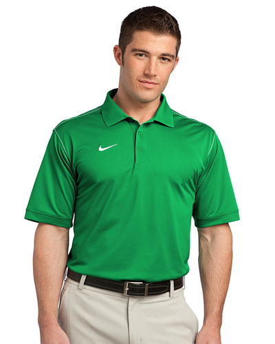 Nike Golf Embroidered Men's Dri-FIT Sport Swoosh Pique Polo