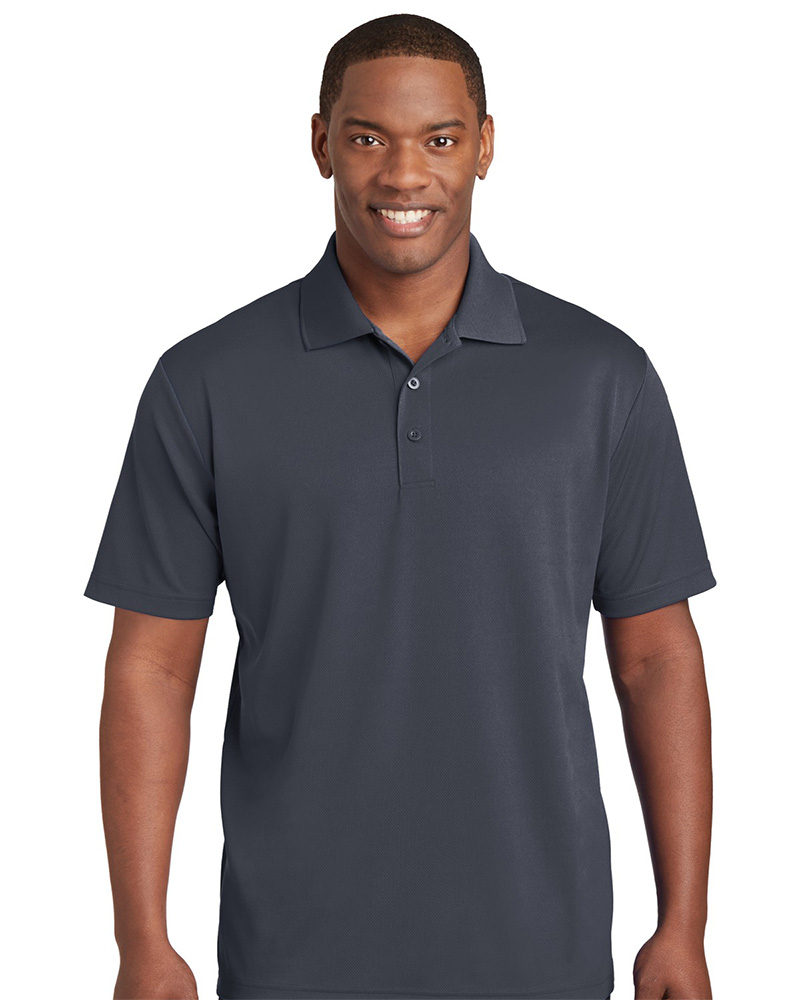 Sport-Tek Embroidered Men's 100% Performance RacerMesh Polo