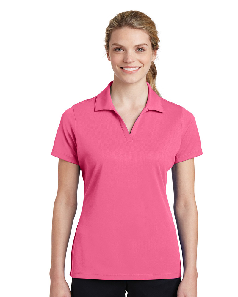 Sport-Tek Embroidered Women's 100% Performance RacerMesh Polo