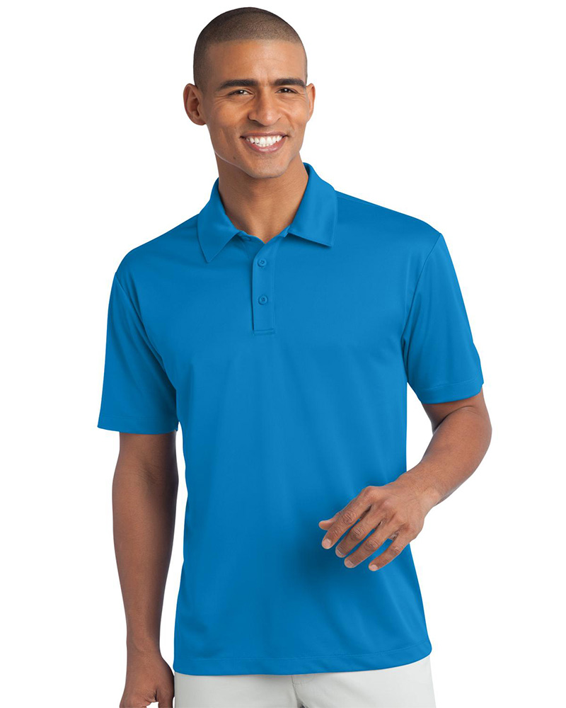 Port Authority Embroidered Men's Silk Touch Performance Polo