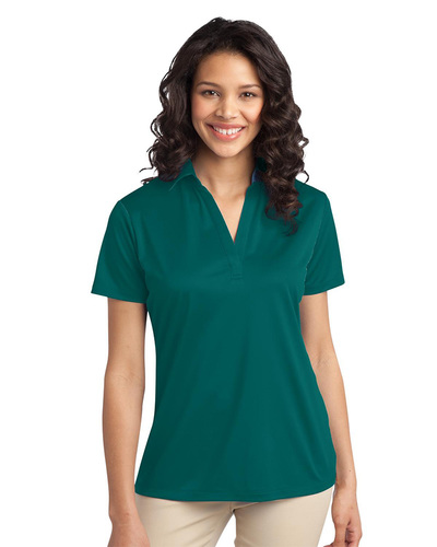 Port Authority Embroidered Women's Silk Touch Performance Polo