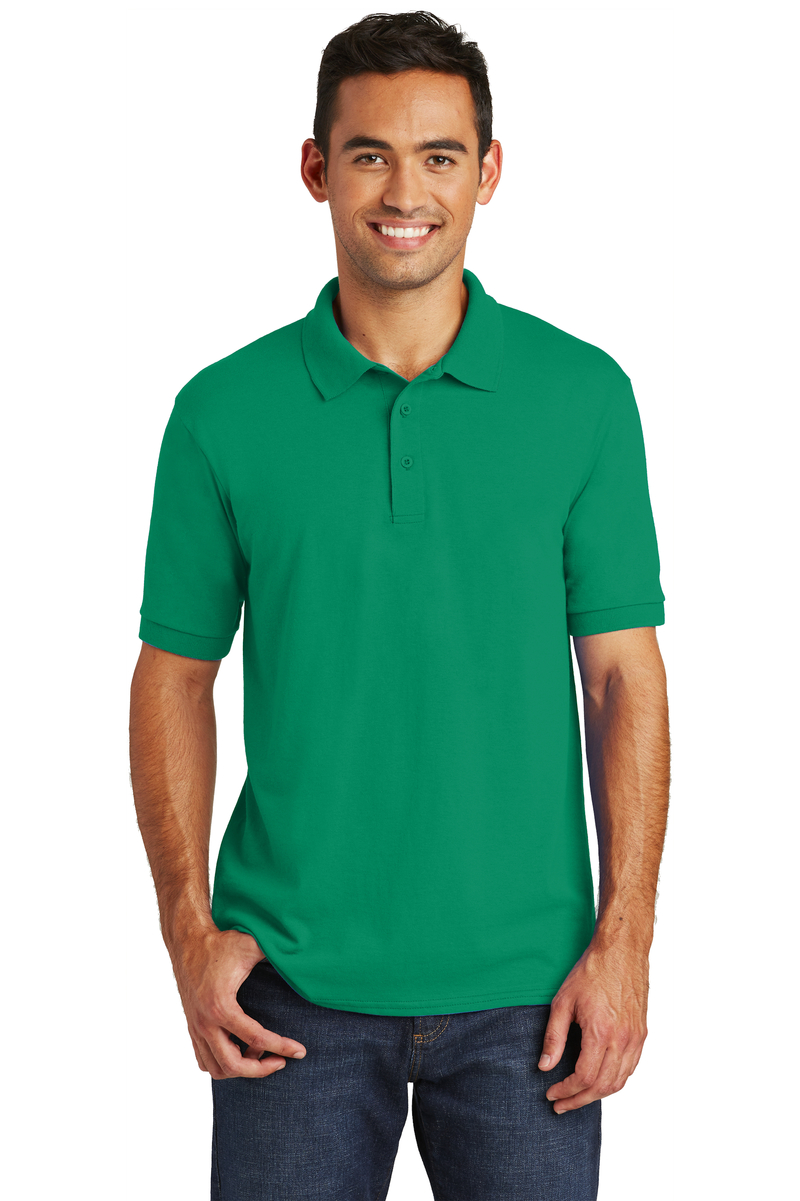 Port & Company Embroidered Men's Core Blend Jersey Knit Polo