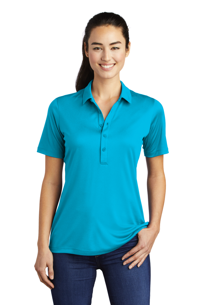 Sport-Tek Embroidered Women's Posi-UV Pro Polo