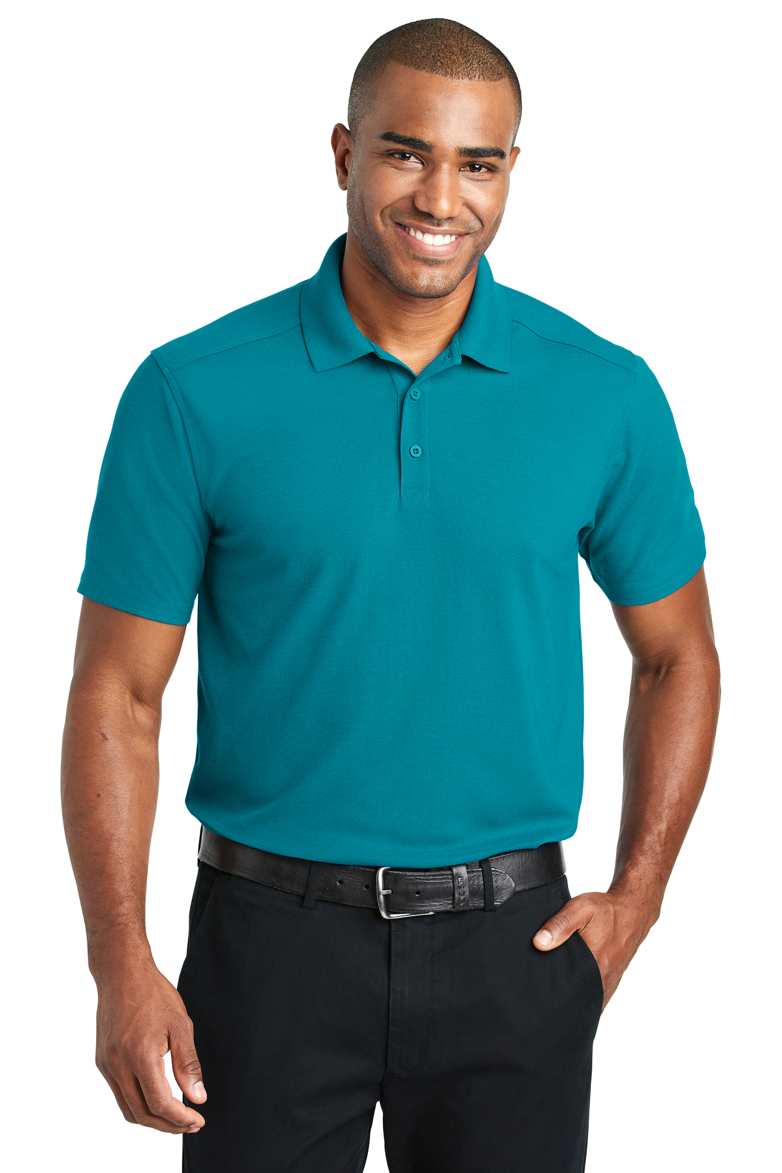 Port Authority Embroidered Men's EZPerformance Pique Polo