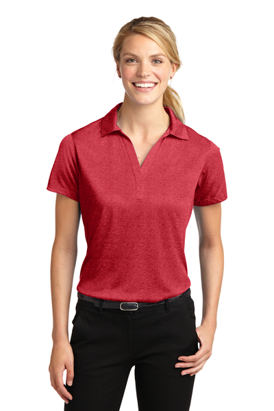 Sport-Tek Embroidered Women's Heather Contender Polo