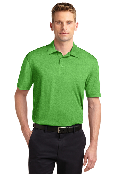 Sport-Tek Embroidered Men's Heather Contender Polo
