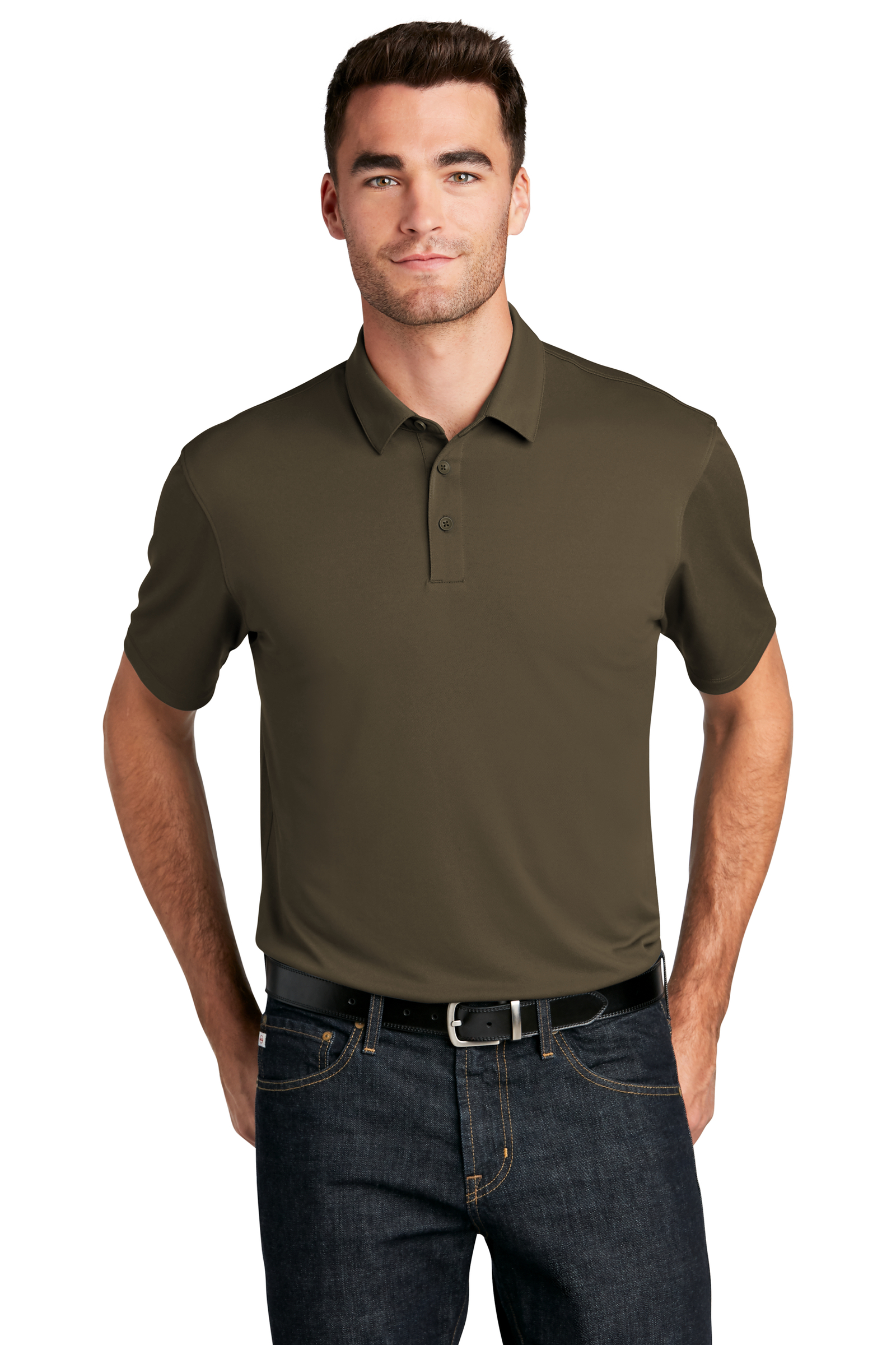 Port Authority Embroidered Men's UV Choice Pique Polo