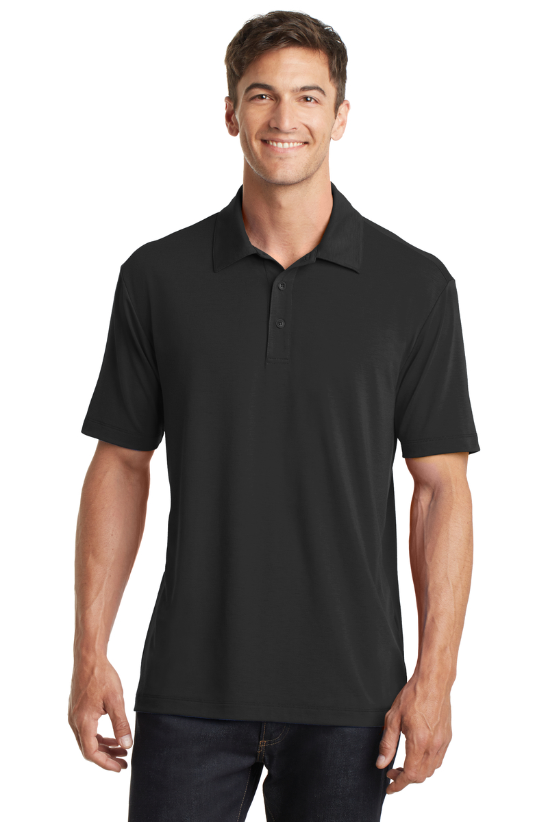 Port Authority Embroidered Men's Cotton Touch Performance Polo