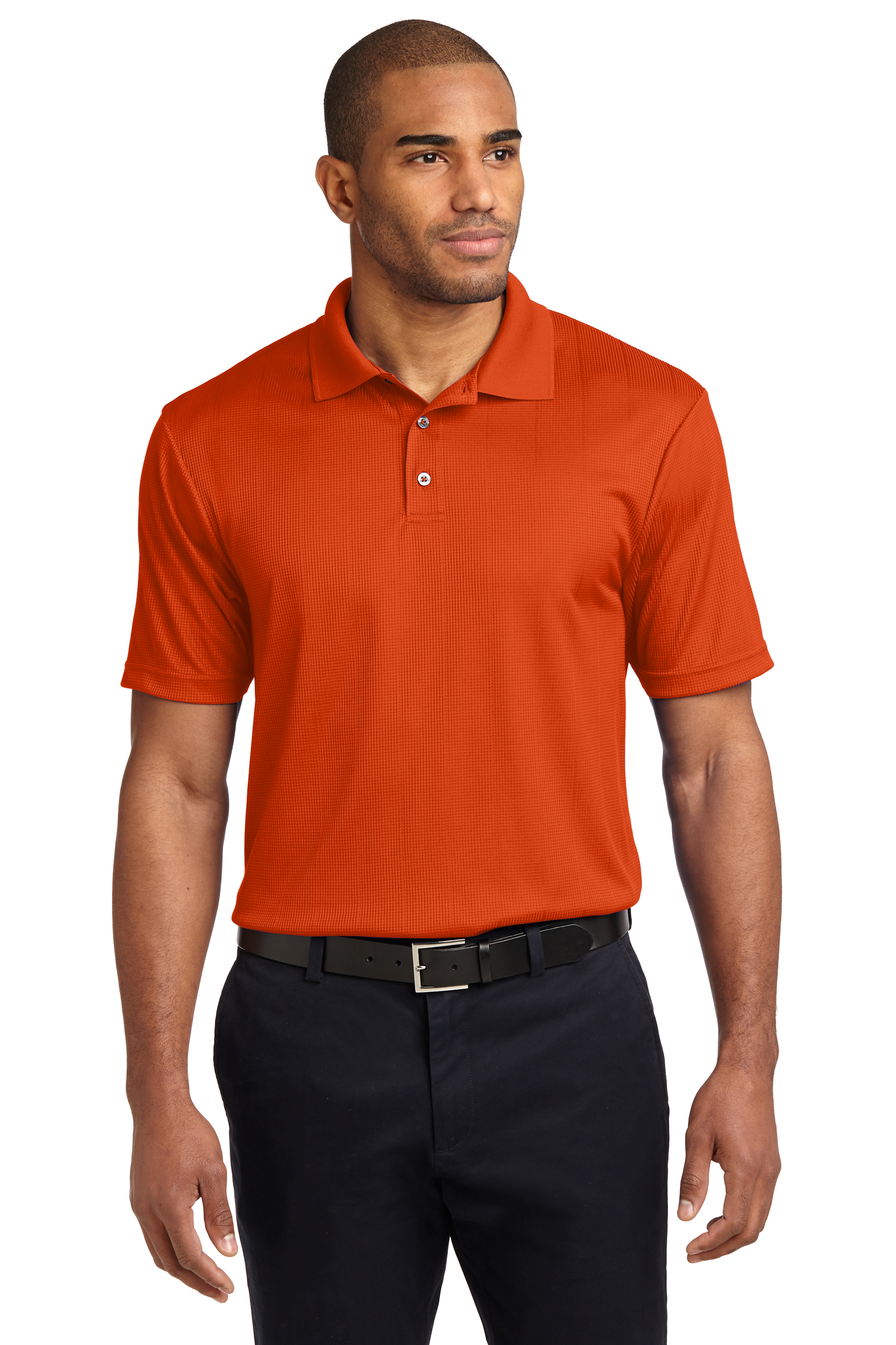 Port Authority Embroidered Men's Performance Fine Jacquard Polo