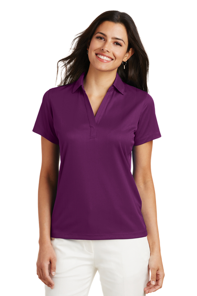 Port Authority Embroidered Women's Performance Fine Jacquard Polo