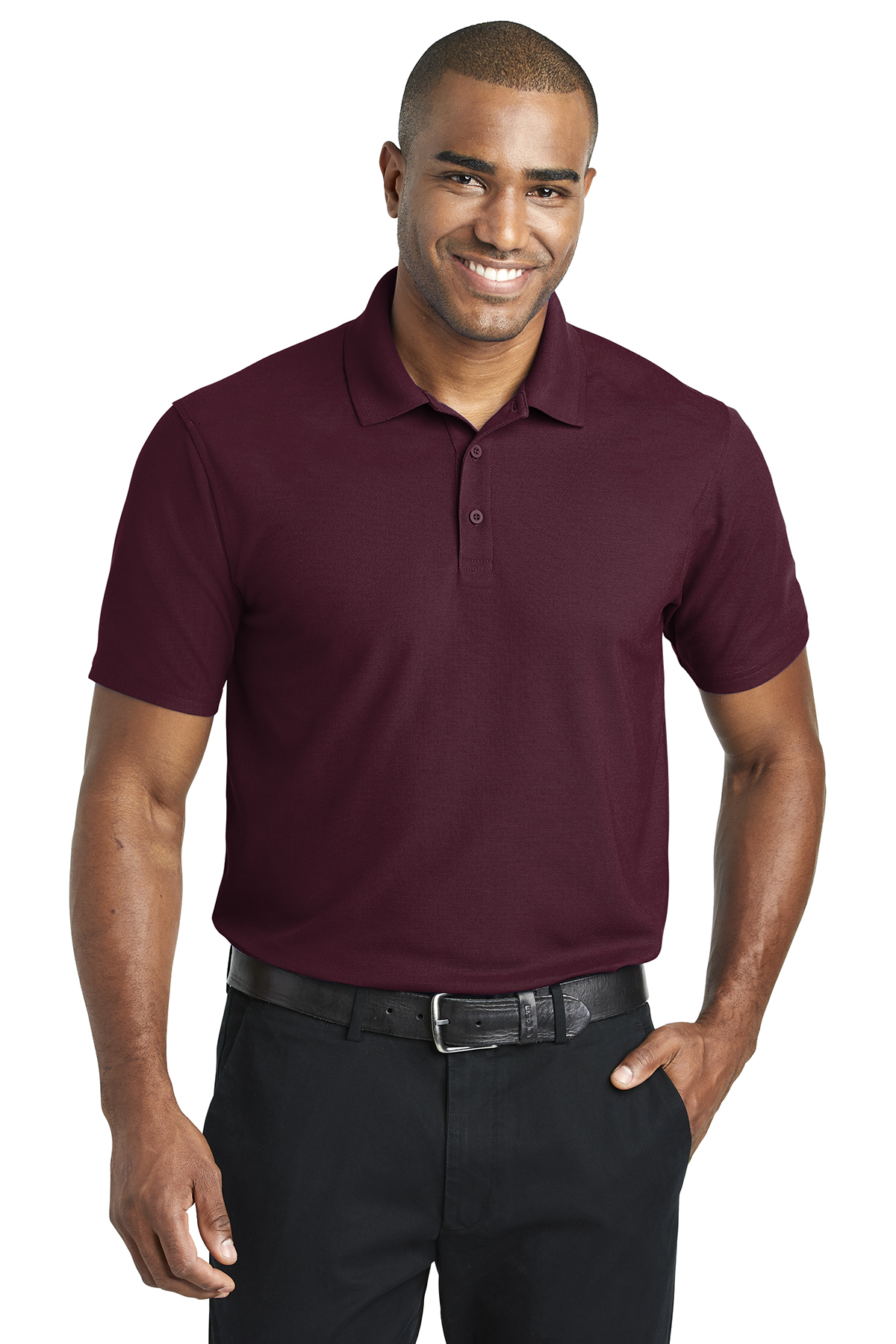 Queensboro Embroidered Men's AP3 All-Purpose Performance Polo