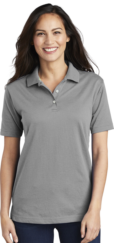 Queensboro Embroidered Women's Luxury Hybrid Jersey Polo