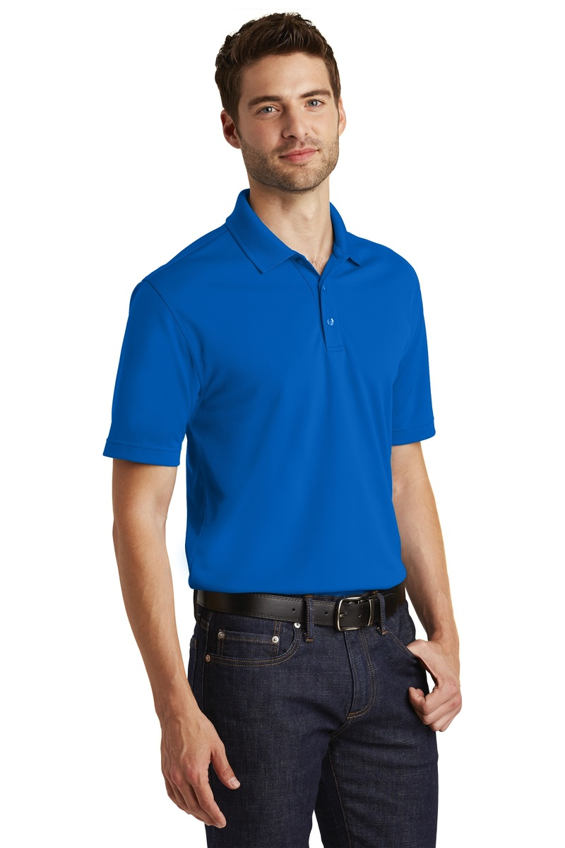 Port Authority Embroidered Men's Dry Zone UV Micro-Mesh Polo