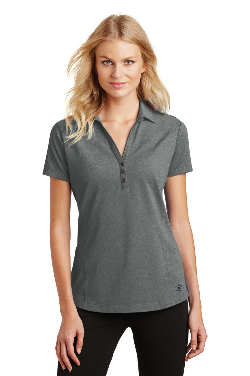 OGIO Embroidered Women's Onyx Polo