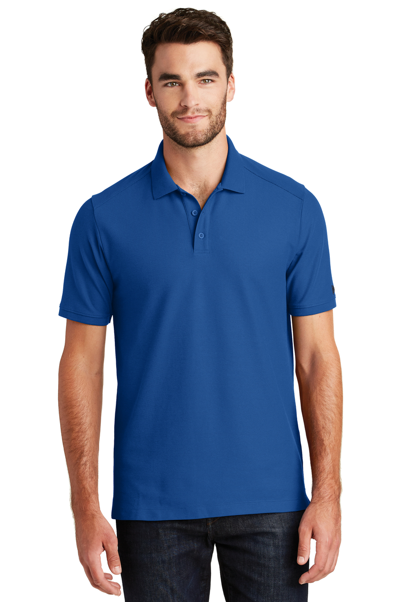 New Era Embroidered Men's Venue Home Plate Polo