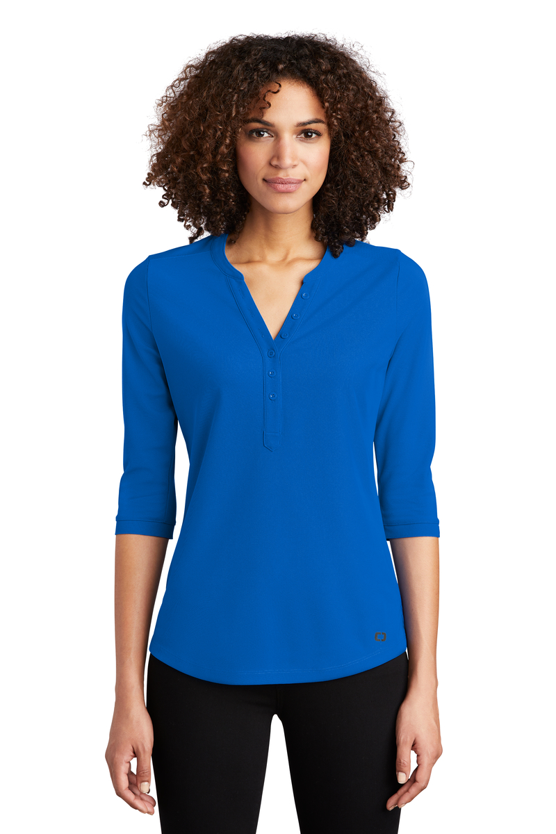 OGIO Embroidered Women's Jewel Henley